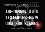 Image of Air-tunnel auto Kansas City Missouri USA, 1936, second 6 stock footage video 65675041296