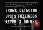 Image of Drunk detector Cleveland Ohio USA, 1936, second 2 stock footage video 65675041302