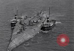 Image of war ship Rosyth Scotland, 1936, second 10 stock footage video 65675041303