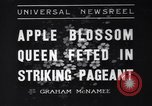 Image of Apple Blossom Pageant Wenatchee Washington USA, 1936, second 1 stock footage video 65675041306