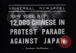 Image of Protest parade New York City USA, 1938, second 3 stock footage video 65675041309
