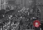 Image of Protest parade New York City USA, 1938, second 8 stock footage video 65675041309