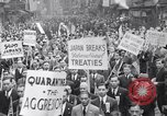 Image of Protest parade New York City USA, 1938, second 11 stock footage video 65675041309