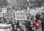 Image of Protest parade New York City USA, 1938, second 12 stock footage video 65675041309