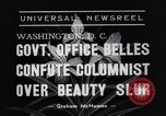 Image of Walter Winchell Washington DC USA, 1938, second 5 stock footage video 65675041314