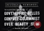 Image of Walter Winchell Washington DC USA, 1938, second 6 stock footage video 65675041314