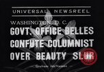 Image of Walter Winchell Washington DC USA, 1938, second 8 stock footage video 65675041314