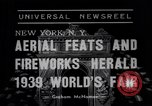 Image of Aerial feats New York City USA, 1938, second 2 stock footage video 65675041315