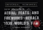 Image of Aerial feats New York City USA, 1938, second 7 stock footage video 65675041315