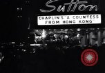 Image of premiere of movie 'A Countess From Hong Kong' directed by Charlie Chap New York United States USA, 1967, second 7 stock footage video 65675041324