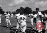 Image of Los Angeles Dodgers vs Tokyo Giants pre-season baseball game Vero Beach Florida USA, 1967, second 6 stock footage video 65675041326