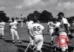 Image of Los Angeles Dodgers vs Tokyo Giants pre-season baseball game Vero Beach Florida USA, 1967, second 7 stock footage video 65675041326