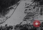 Image of Ski flying Vikersund Norway, 1967, second 4 stock footage video 65675041327