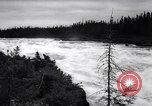 Image of power plant Labrador Canada, 1967, second 7 stock footage video 65675041330