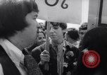 Image of Hippies at a demonstration London England United Kingdom, 1967, second 12 stock footage video 65675041331