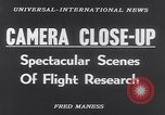 Image of High-speed cameras California United States USA, 1953, second 3 stock footage video 65675041354