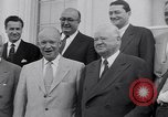 Image of President Eisenhower Washington DC USA, 1953, second 10 stock footage video 65675041355