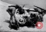 Image of inflated boat Quantico Virginia USA, 1953, second 1 stock footage video 65675041356