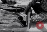 Image of inflated boat Quantico Virginia USA, 1953, second 8 stock footage video 65675041356