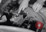 Image of Charlie McCarthy driving a car Princeton New Jersey USA, 1953, second 7 stock footage video 65675041357