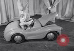Image of Charlie McCarthy driving a car Princeton New Jersey USA, 1953, second 11 stock footage video 65675041357