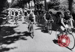 Image of bicycle racing France, 1953, second 12 stock footage video 65675041358