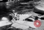 Image of Kayak Race Vezere River France, 1953, second 4 stock footage video 65675041360