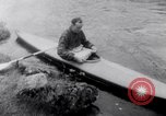 Image of Kayak Race Vezere River France, 1953, second 5 stock footage video 65675041360