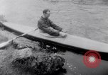 Image of Kayak Race Vezere River France, 1953, second 7 stock footage video 65675041360