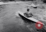 Image of Kayak Race Vezere River France, 1953, second 12 stock footage video 65675041360