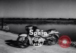 Image of Amphibious motorcycle Spain, 1955, second 4 stock footage video 65675041367