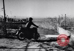 Image of Amphibious motorcycle Spain, 1955, second 10 stock footage video 65675041367