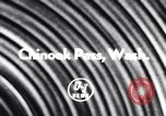 Image of Chinook Pass Washington State United States USA, 1956, second 2 stock footage video 65675041374