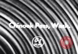 Image of Chinook Pass Washington State United States USA, 1956, second 3 stock footage video 65675041374