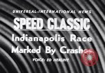 Image of racing event Indianapolis Indiana USA, 1956, second 5 stock footage video 65675041376