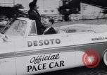 Image of racing event Indianapolis Indiana USA, 1956, second 11 stock footage video 65675041376