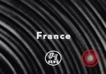 Image of Geo-physical Experiments France, 1956, second 2 stock footage video 65675041381