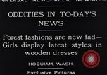 Image of wooden dresses Hoquiam Washington USA, 1929, second 2 stock footage video 65675041384