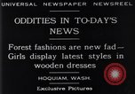 Image of wooden dresses Hoquiam Washington USA, 1929, second 3 stock footage video 65675041384