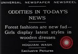 Image of wooden dresses Hoquiam Washington USA, 1929, second 5 stock footage video 65675041384