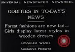 Image of wooden dresses Hoquiam Washington USA, 1929, second 6 stock footage video 65675041384