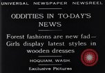 Image of wooden dresses Hoquiam Washington USA, 1929, second 8 stock footage video 65675041384