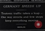Image of One way streets Germany, 1929, second 7 stock footage video 65675041389