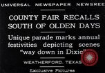 Image of County Fair Weatherford Texas USA, 1929, second 1 stock footage video 65675041391
