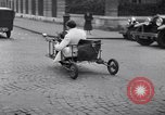 Image of unique motorcycle France, 1930, second 10 stock footage video 65675041393