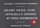 Image of President Doumergue Versailles France, 1931, second 2 stock footage video 65675041401
