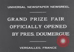 Image of President Doumergue Versailles France, 1931, second 6 stock footage video 65675041401
