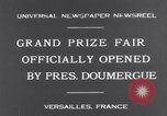 Image of President Doumergue Versailles France, 1931, second 8 stock footage video 65675041401