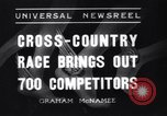 Image of Cross country race Paris France, 1937, second 1 stock footage video 65675041416