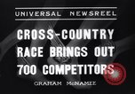 Image of Cross country race Paris France, 1937, second 4 stock footage video 65675041416